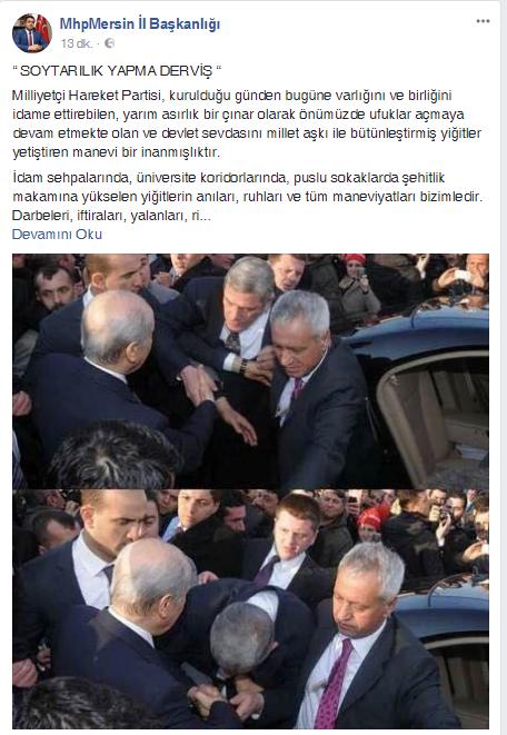 MHP Mersin Basın Açıklaması