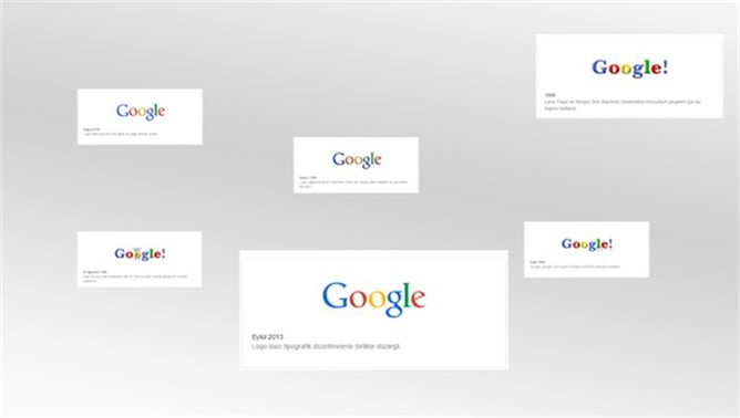 Google logosunun tarihçesi Doodle oldu (History Brand of Google Logo)