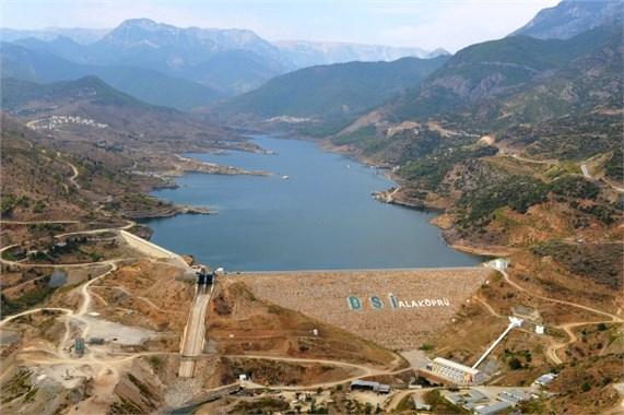 Anamur Alaköprü Barajının Açılışını Erdoğan Gerçekleştirecek
