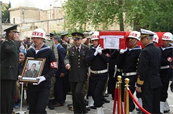 Şehit Jandarma Onbaşı Sabri Acem Tarsus'ta Defnedildi