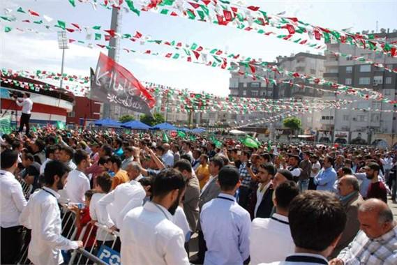 Mersin'de Kutlu Doğum Programı Düzenlendi