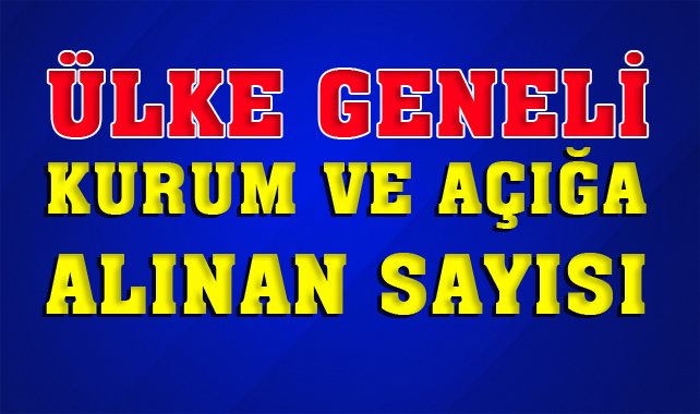 Türkiye Geneli Kamuda Açığa Alınanların Sayısı: Kaç Personel Açığa Alındı
