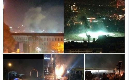 İstanbul Taksim Patlama - Foto Galeri