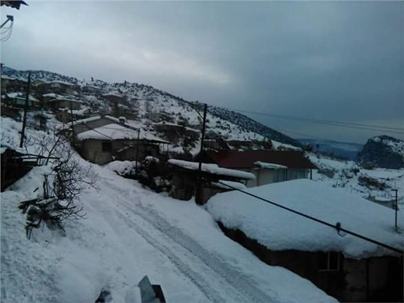Mersin'de Kar Fotoğrafları 2016 Aralık