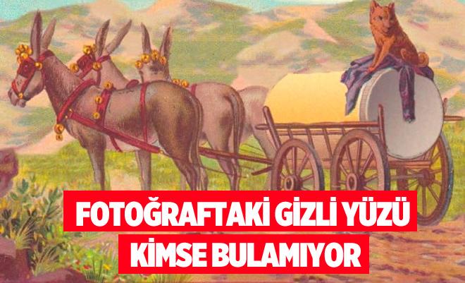 FOTOĞRAFTA GİZLİ YÜZÜ KİMSE GÖREMİYOR!