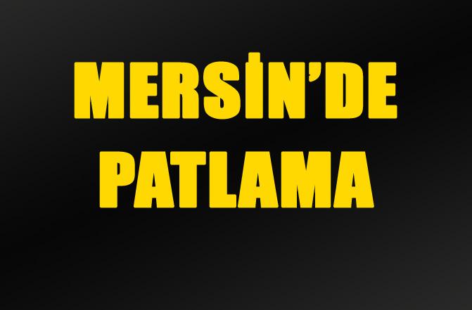 Mersin'de Patlama Valilik Resmi Açıklama Yaptı.