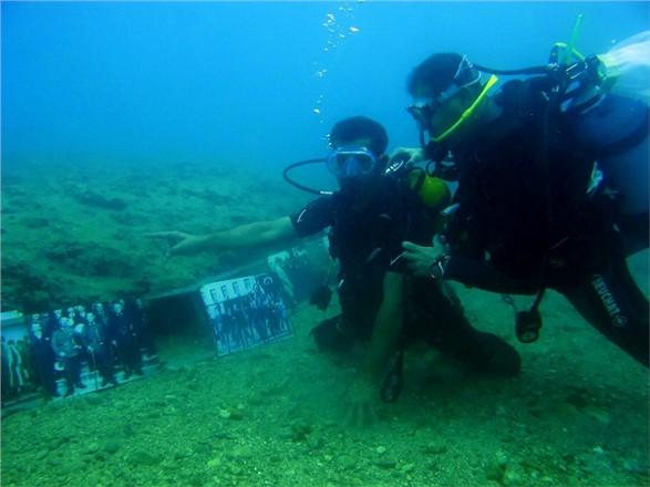 Mersin'de 29 Ekim Kutlamaları, Engelliler 29 Ekim'i Denizin Derinliklerinde Kutladı