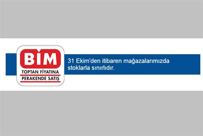 BİM Aktüel, 31 Ekim'den İtibaren Mağazalardaki Stoklarla Sınırlı Uygun Fiyat Ürünler