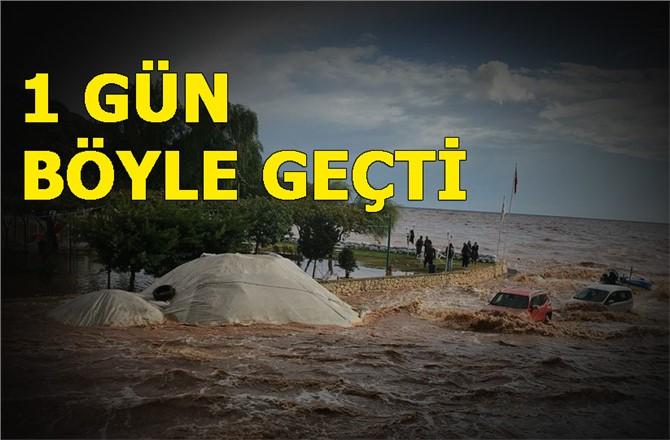 Mersin'de 5 Kasım Pazar Günü Yaşanan Sel'e Ait Fotoğraflar