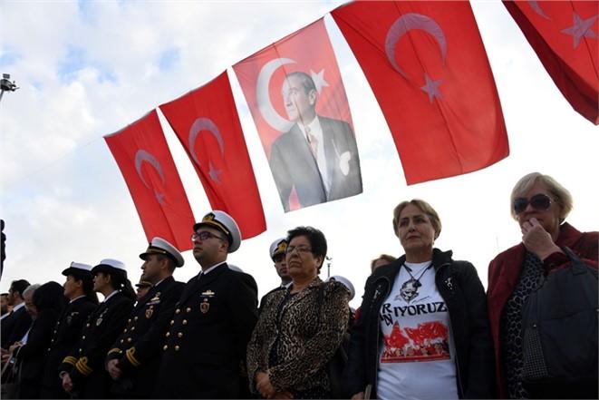 Mustafa Kemal Atatürk, Ölümünün 79. Yılında Anıldı