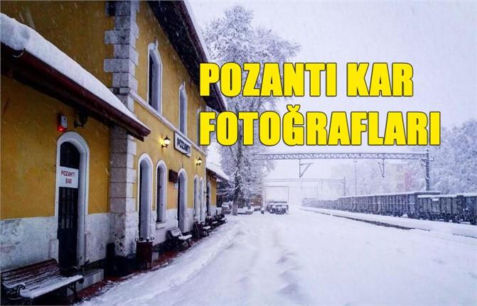 Pozantı Kar Manzaraları, Pozantı'da Çekilmiş Kar Fotoğrafları
