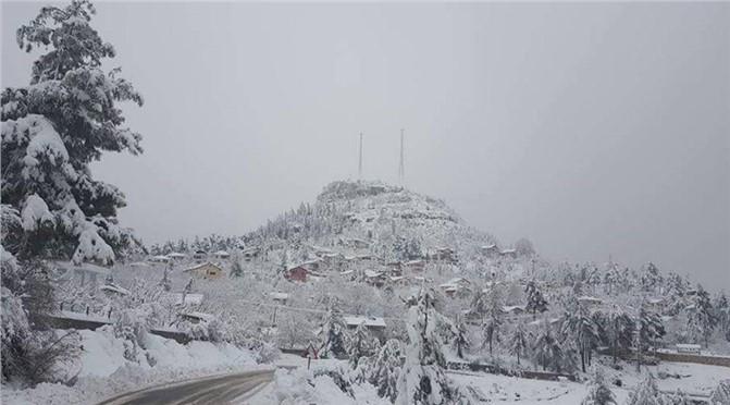 Çamlıyayla Kar Fotoğrafları