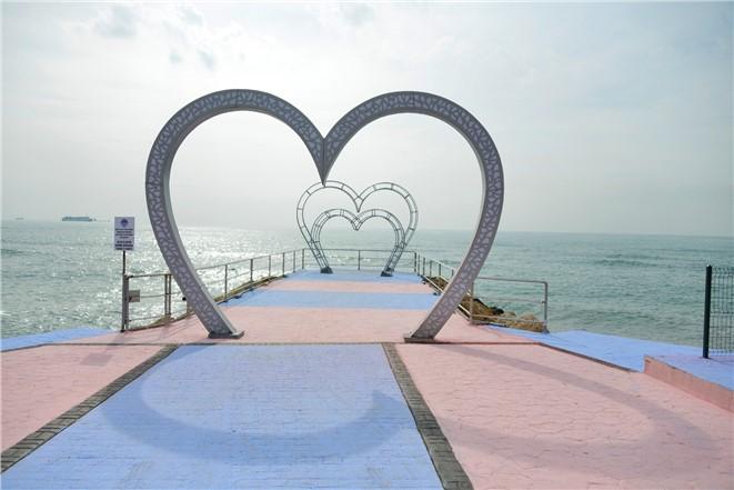 Fotoğraflarla Mersin Sahilinin Yeni Hali