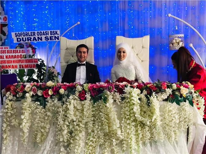 İBT Medya Yönetici Mahmut Ergün Çelik, Ayşegül Bilgin İle Dünya Evine Girdi