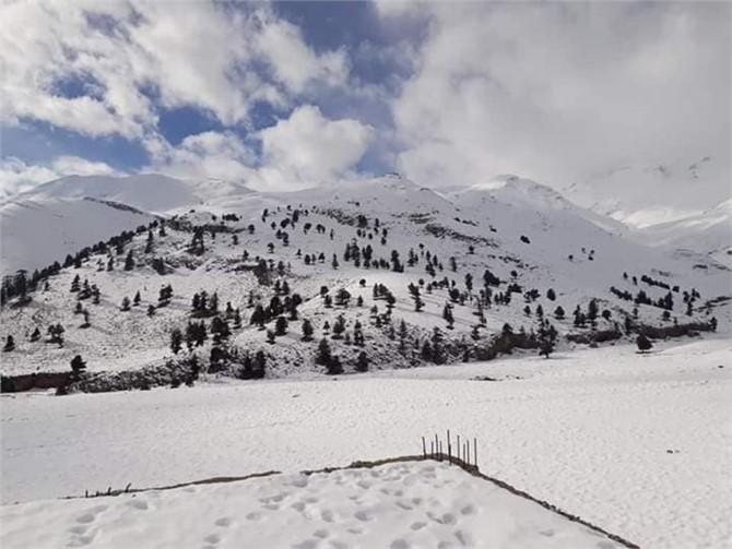 Elmalı Boğazı Kar Fotoğrafları
