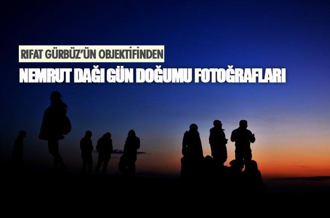 Nemrut'ta Gün Doğumu Fotoğrafları Rıfat Gürbüz'ün Objektifinden