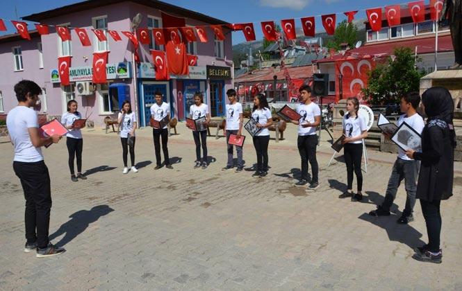 Çamlıyayla'da 19 Mayıs Atatürk'ü Anma Gençlik ve Spor Bayramı Kutlamaları
