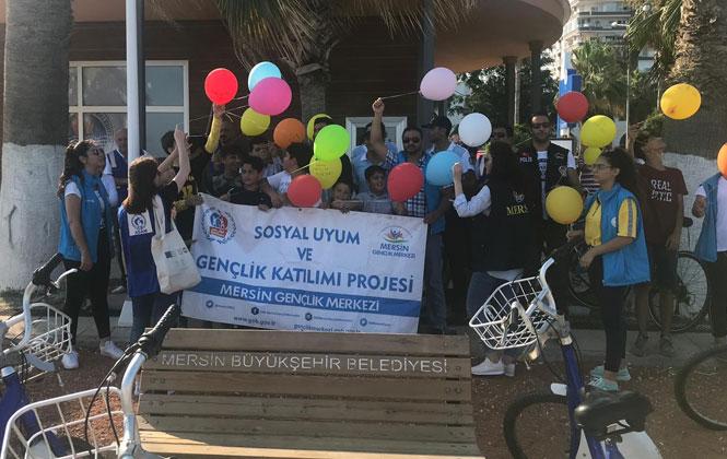 İl Emniyetten Sosyal Uyum ve Gençlik Katılımı Projesi İle Bisiklet Etkinliği