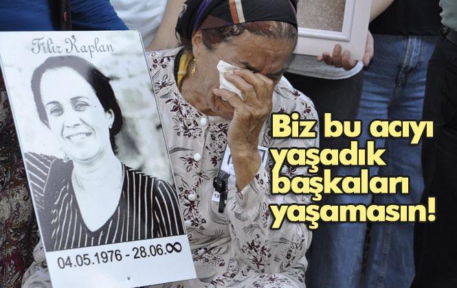 Kadınlar Kocası Tarafından Öldürülen Filiz Kaplan İçin Bir Araya Geldi