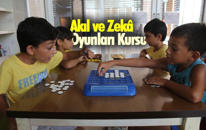 Mersin Erdemli Belediyesinden Akıl ve Zekâ oyunları kursu