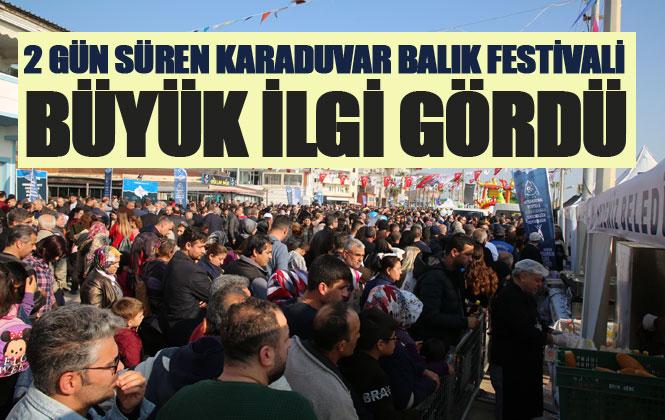 Mersin Karaduvar Balık Festivali Coşkusu, İkinci Gününde de Sürdü