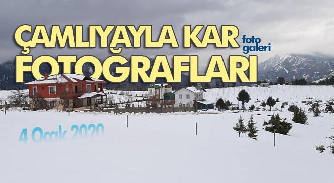 Mersin'in Çamlıyayla İlçesinde, Belediye Başkanı İsmail Tepebağlı Tarafından 4 Ocak 2020 Cumartesi Günü Çekilmiş Kar Fotoğrafları