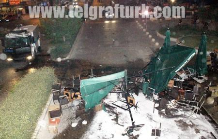 Mersin Forum'da Olaylar 10 Yaralı