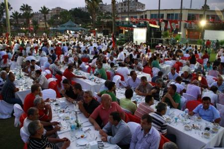 Mersin'de Başkan Kocamaz İzdihamı