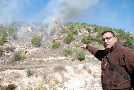 Silifke'de Yangın