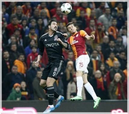 Galatasaray Beşiktaş Derbisi İlk Yarı Görüntüleri