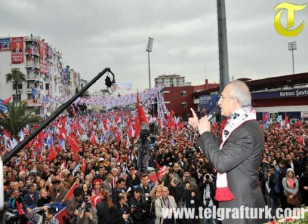 Kemal Kılıçdaroğlu Mersin Mitingi