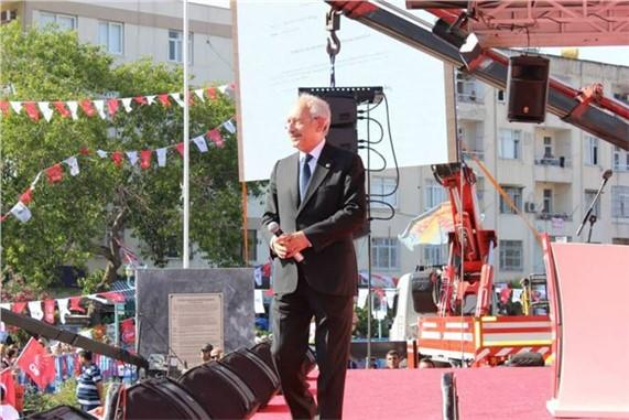 CHP Lideri Kemal Kılıçdaroğlu, Tarsus'ta Konuştu