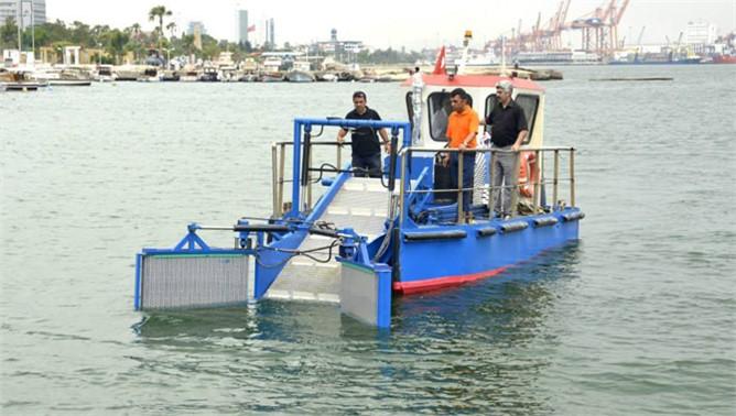 Mersin Denizi,  Deniz Süpürgesi ile Daha Temiz Olacak
