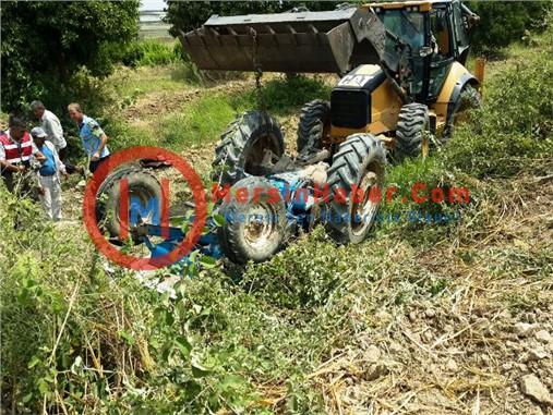 Devrilen Traktörün Altında Kalan Şahıs Hayatını Kaybetti