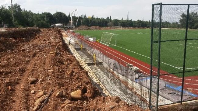 Şirinköy'ün Spor Tesisi Yenilendi