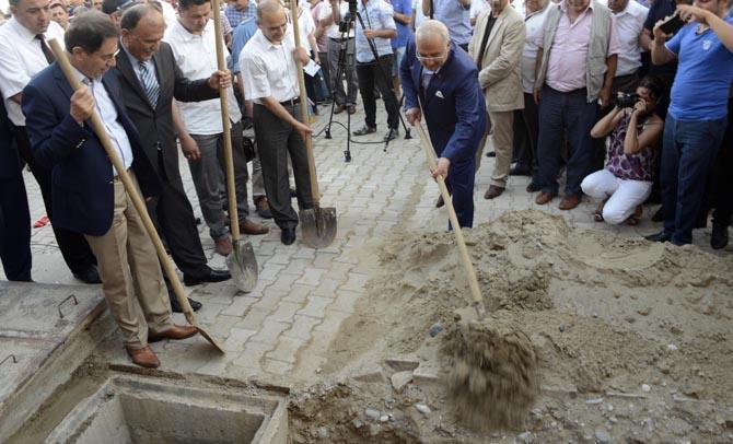 Bozyazı Kanalizasyon Şebekesinin Tamamlanan Kısmı Açıldı