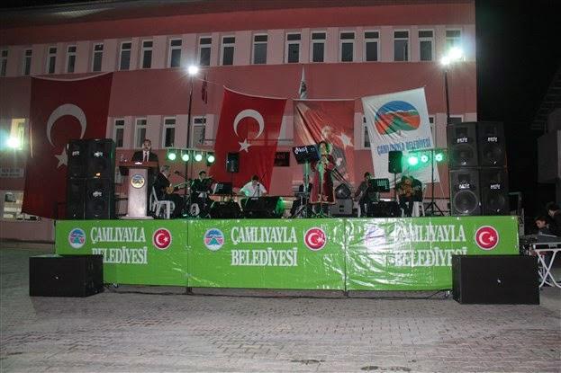 Yaylada türkü gecesi