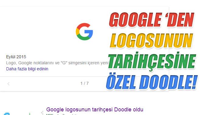 Google Logosunun Tarihini Merak Edenler? Geçmişi Google logosunun tarihçesi (History Brand of Google Logo)