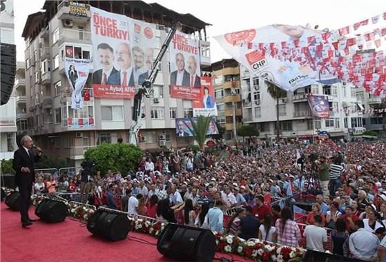 CHP Genel Başkanı Kılıçdaroğlu Mersin'deydi