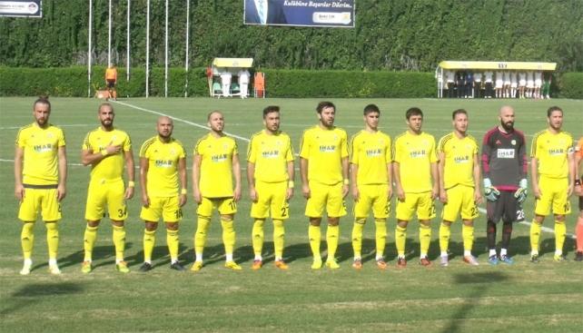 Tarsus , Ankara'da 3-1 yenildi
