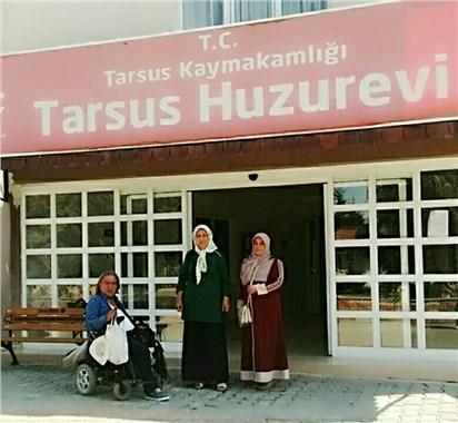 Tarsus'ta Yaşlılara ziyaret
