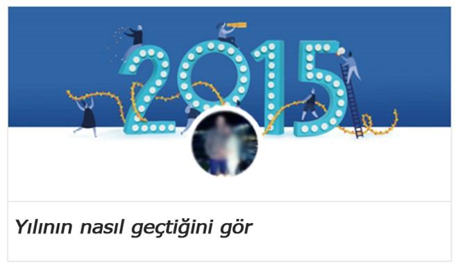 Facebook 2015 Yılının Nasıl Geçtiğini Gör Uygulaması, Kullanıcılara 2015 Albümü