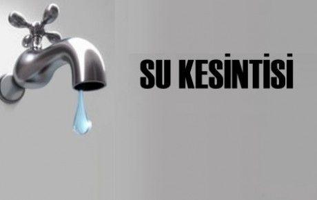 MESKİ'den Yenişehir'e Su Kesintisi Uyarısı