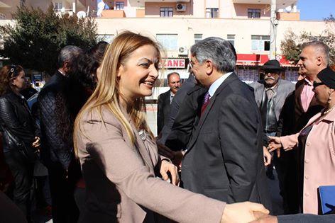 CHP'li D. Fikri Sağlar Yenice'deydi