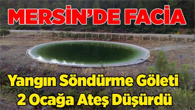 Mersin'de 2 Kişi Gölette Boğuldu