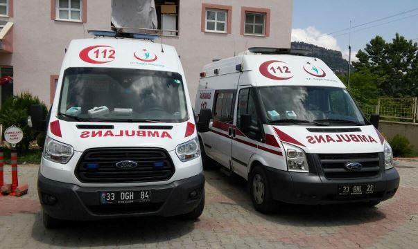 Çamlıyayla'ya Ambulans Takviyesi Yapıldı