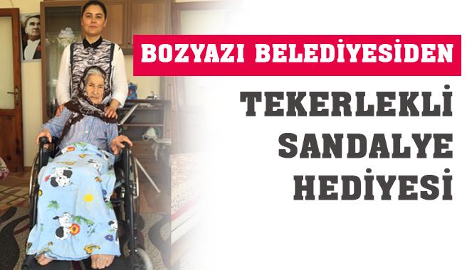 Mersin Bozyazı Belediyesi Yaşlıların Eli Ayağı Oluyor