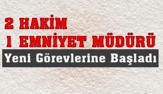 Mersin Gülnar'da Şengü, Çimen ve Esertürk Görevinelerine Başladılar