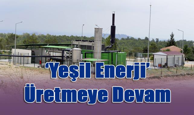 Mersin Büyükşehir 'Yeşil Enerji' Üretmeye Devam Ediyor
