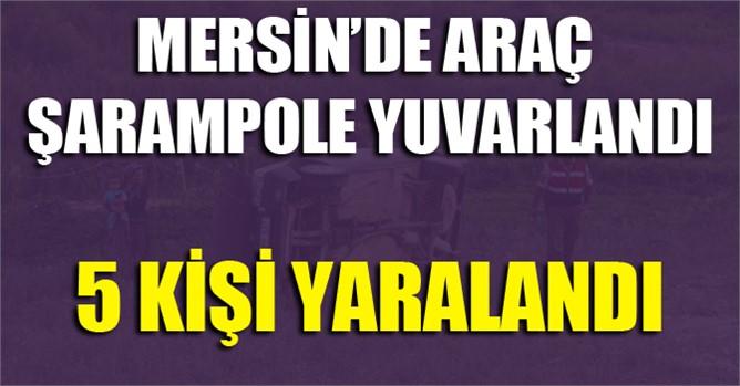 Mersin'de kaza: 5 yaralı